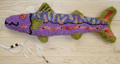 "hooked "" Mac-fish "" 2014  Susan Ferraro - GIFTS AT 136 DAMARISCOTTA"