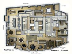 [EXECUTIVE OFFICE...] SocketSite's Unofficial Penthouse Plan Challenge: Life(box) At The Top - SocketSite™