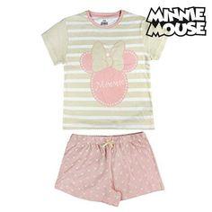 d92591666f525  VENTE FLASH  Pyjama D Été Minnie Mouse 6152 (taille 5 ans)