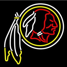"""NFL WASHINGTON REDSKINS BEER BAR CLUB NEON LIGHT SIGN (15"""" X 13"""") - Free Shipping Worldwide  ~ Voltage: 100-240v UL Transformers from NeonPro - Workable in all countries - US, UK, Canada, Japan, Australia, European Countries, & Others.  ~ Payment: Paypal / Credit Cards / Western Union.  ~ Delivery Time: 9-15 days to USA/Canada/Japan/Australia/Asian Countries; 12-18 days to European Countries/South American Countries; via a USPS/Hongkongpost/Canadapost tracking number, directly shipped from…"""