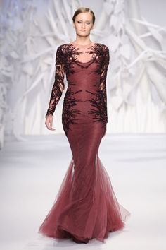Abed Mahfouz Couture Autumn Winter 2013. Beirut