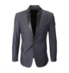 FLATSEVEN Men's Double Breasted Wool Blend Tweed Blazer Jacket with Peaked Lapel (BJ490) - Blazers#BLACKFRIDAY #CYBERMONDAY #MENS CLOTHING #MENSJACKET #MENSBLAZER #MENSFASHION #FASHIONFORMEN