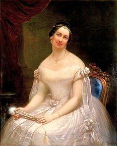 President John Tyler's second wife,  Julia Gardiner Tyler.