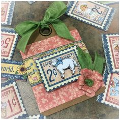 Penny's Paper Doll Family, ATC Tag by Graphic 45