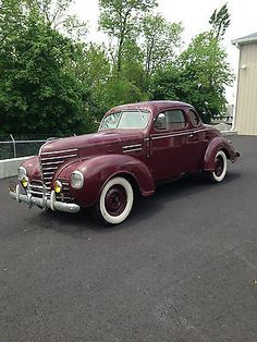 1939 Plymouth P8 Coupe..Re-pin brought to you by agents of #carinsurance at #houseofinsurance in Eugene, Oregon