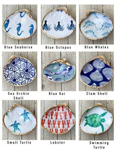 Oyster Shell Crafts, Oyster Shells, Clam Shells, Seashell Art, Seashell Crafts, Seashell Projects, Sea Crafts, Sea Glass Crafts, Shell Animals