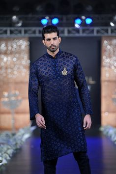 wedding kurtas for men blue - Google Search