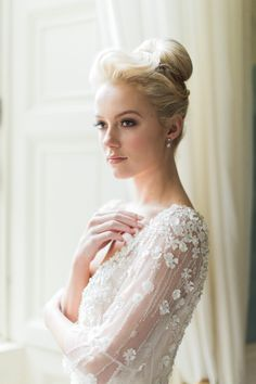 #beauty, #fashion, #hairstyle, #updo, #bun, #blonde, #high-bun, #amkeup  Photography: Paula OHara - www.paulaohara.com/ Wedding Dress: Anabel Rose - anabelrose.com Wedding Dress: Sharon Hoey - www.sharonhoey.com Wedding Dress: Marian Gale - mariangale.ie Wedding Dress: Verona Bridal - veronabridal.co.uk Wedding Dress: Myrtle Ivory - myrtleivory.com Wedding Dress: The White Gallery - thewhitegalleryboutique.co.uk