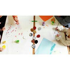 Workshop for the little ones #szinter #Boya #kidsart