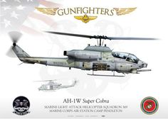 """UNITED STATES MARINE CORPS MARINE LIGHT ATTACK HELICOPTER SQUADRON 369 """"GUNFIGHTERS"""" MARINE CORPS AIR STATION CAMP PENDLETON"""