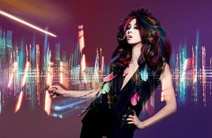 Wella TrendVision 2013 Decibel Haute Couture. Going to try this