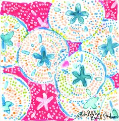 Today's #Lilly5x5 was inspired by a fashion sketch and creative idea from our friend, Olivia. It's Lilly Lovers like YOU that give life to our prints every day. xx