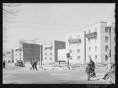 Ida B. Wells Projects | Ida B. Wells Housing Project for Negroes. Chicago, Illinois