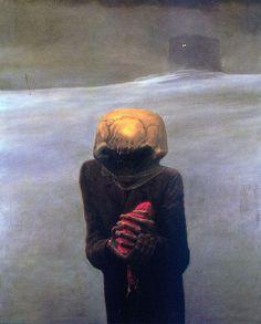 Zdzisław Beksinski surrealismo gotico 11