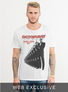 James Bond Octopussy Tee