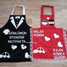 Kids Apron, Boombox, Vertical Stripes, Aprons, Accent Pillows, Hand Embroidery, Patches, Cross Stitch, Barbie