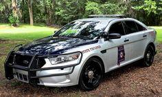 "Alabama Law Enforcement Agency ""ALEA"" State Trooper Ford Taurus Interceptor Patrol Vehicle"