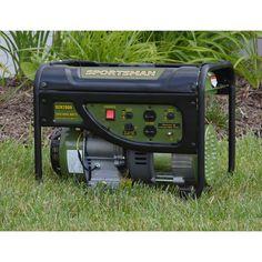 Portable Gasoline Generator 2000 Watts Emergency 120 V Electric Generator Camper #Sportsman