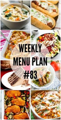The comforting and delicious recipes in this week's Menu Plan will have everyone asking for seconds!