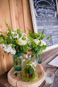 Country Chic ceremony at Mint Springs Farm Photo by Ace Photography