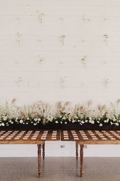 Wildflower Escort Card Display | Laid Back Texas Hill Country Wedding at Prospect House | Planning, Design, and Florals by The Nouveau Romantics | Photography by James Moes
