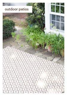 outdoor rug by Dash & Albert