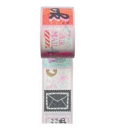 HEMA stationery - Washi tape met stempel dessin.