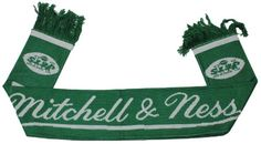 New York Jets NFL Mitchell and Ness Scarf -- More info could be found at the image url.