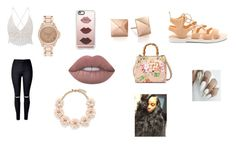 """""""Untitled #29"""" by shiyafrazierx on Polyvore featuring Casetify, J.Crew, River Island, WithChic, Gucci and Lime Crime"""