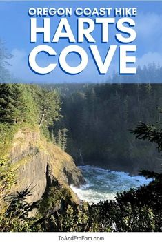Hart's Cove Trail, Oregon Coast: Breathtaking hike near Lincoln City, OR Canada Travel, Travel Usa, Oregon Coast Hikes, Lincoln City Oregon, Portland Real Estate, Forest Road, Columbia River Gorge, Forest Service, United States Travel