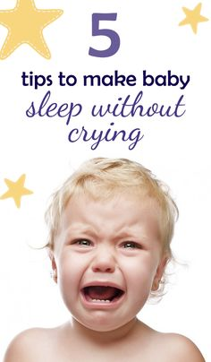 Most parents find it difficult to put a baby to sleep without crying at all. Here are some tips on getting your baby to sleep without crying: Toddler Sleep, Baby Sleep, Kids And Parenting, Parenting Hacks, Love And Logic, Bonding Activities, I Love My Daughter, First Time Parents, Babysitters