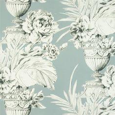 palmieri - slate fabric | Designers Guild