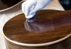 5 tips to help keep your guitar clean - Guitar Care - StrumSchool StrumSchool - Free Video Guitar Lessons www. Guitar Tips, Guitar Lessons, Beautiful Guitars, Wooden Hand, Cleaning Solutions, Helpful Hints, Decoupage, Woodworking, Kitchen