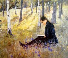 pintura de Ada Thilén (1852-1933)