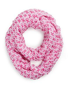 Pink Ribbon Infinity Scarf | rue21