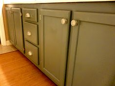 how to paint bathroom cabinets lighter color