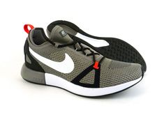 brand new 267cc ccab1 Nike Duel Racer men s casual shoes sneakers kicks Charcoal White NIB! size  11