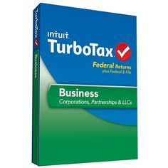 TurboTax Business is the business tax software you've been looking for. Now you can complete your business taxes with confidence, and save money doing it. It includes everything needed to complete your business income taxes as well as extra guidance to help ensure accuracy and maximize business deductions. -- Julianna