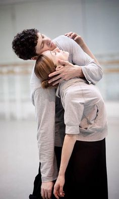 Jonathan Cope and Marianela Nunez. Rehearsing in 2010 for one of her favourite ballets Winter Dreams by #sirkennethmacmillan #dreamrole