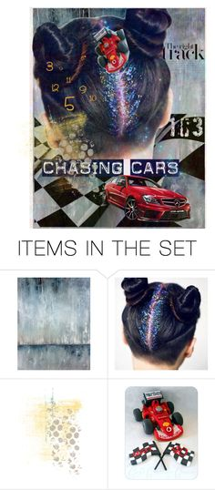 """""""*the right track*     (chasing cars)"""" by karineg ❤ liked on Polyvore featuring art"""