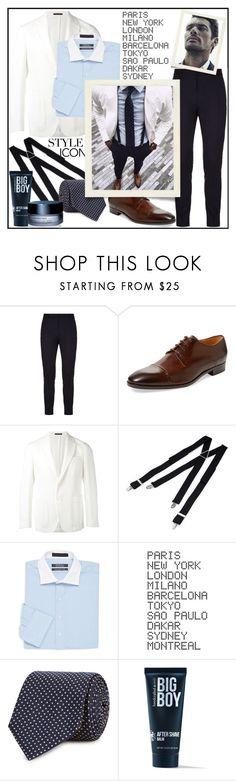 """DISCREET CHARM!!!"" by kskafida ❤ liked on Polyvore featuring Dsquared2, Saks Fifth Avenue, The Gigi, ADZif, BOSS Black, 21 Men, Shiseido, Paul Frank, men's fashion and menswear"