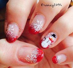 9 Christmas nails