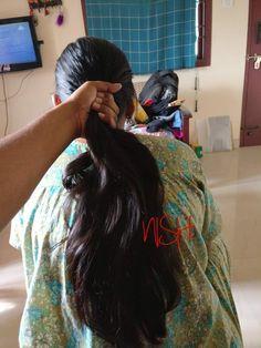 Indian Long Hair Braid, Long Hair Ponytail, Braids For Long Hair, Ponytail Hairstyles, Drawing Wallpaper, Long Black Hair, Barber Chair, Indian Hairstyles, Moon Art