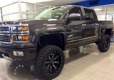 chevy 2500hd lifted - Google Search