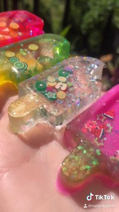 Here r someFun resin popsicle shakers that I made and they're all based off a different fruit if you want to see how I made these check out my YouTube video for a full tutorial Epoxy Resin Art, Diy Resin Art, Diy Resin Crafts, Resin Molds, Diy And Crafts, Arts And Crafts, 5 Min Crafts, Cute Crafts, Diy Keychain