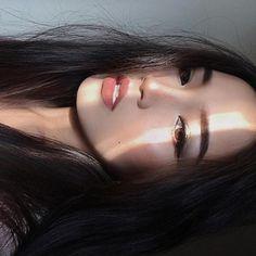 New eye-makeup lesson. Korean Girl Ulzzang, Ulzzang Girl Fashion, Cute Korean Girl, Cute Makeup, Beauty Makeup, Makeup Looks, Brunch Outfit, Korean Beauty Girls, Asian Beauty