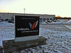 It's 6:30 am, 8 degrees in the middle of winter at Visual Impressions and our fantastic team is busy screen-printing or embroidering apparel for our clients.  Maybe your job is the one they got out of bed this morning for...who knows?  www.visualimp.com