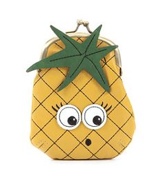 Pineapple Coin Purse | 253457585 | New Look