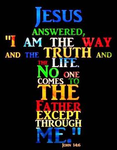 John 14:6  ~~~ Jesus Christ gave believer's and fhose with Faith ....... instructions that we approach our Heavenly Father ... through Jesus.