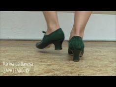 Zapateado 15 . Escobilla por Tangos . Flamenco - YouTube